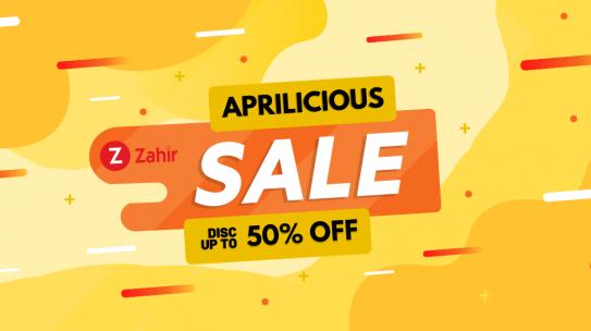 Promo Zahir Accounting Software Bulan April